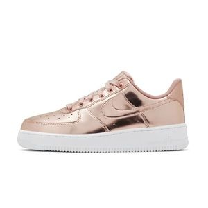 Women Rose Gold Sneakers Nike on Poshmark